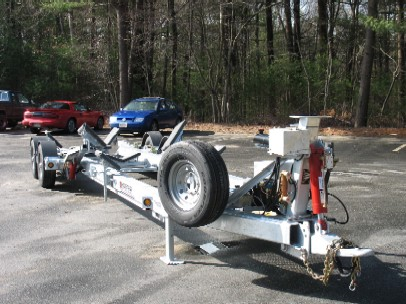 Road Gold Star Hydraulic Boat Trailer Series GS 3400
