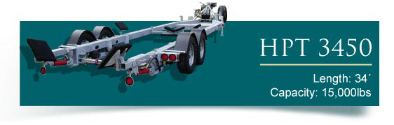 Road HPT Boat Trailer Series 3450