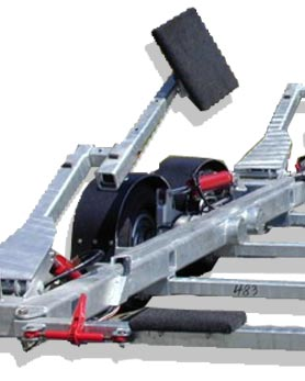 HST Series 3000 S Hydraulic Boat Trailer